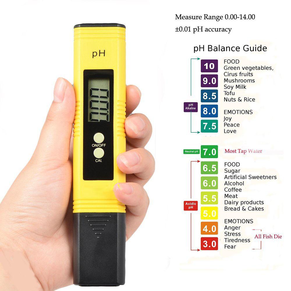 chỉ số máy đo ph nước