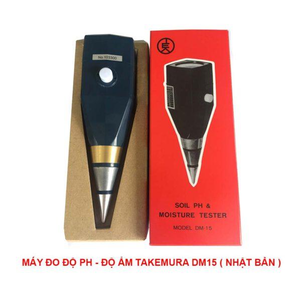 máy đo ph và độ ẩm