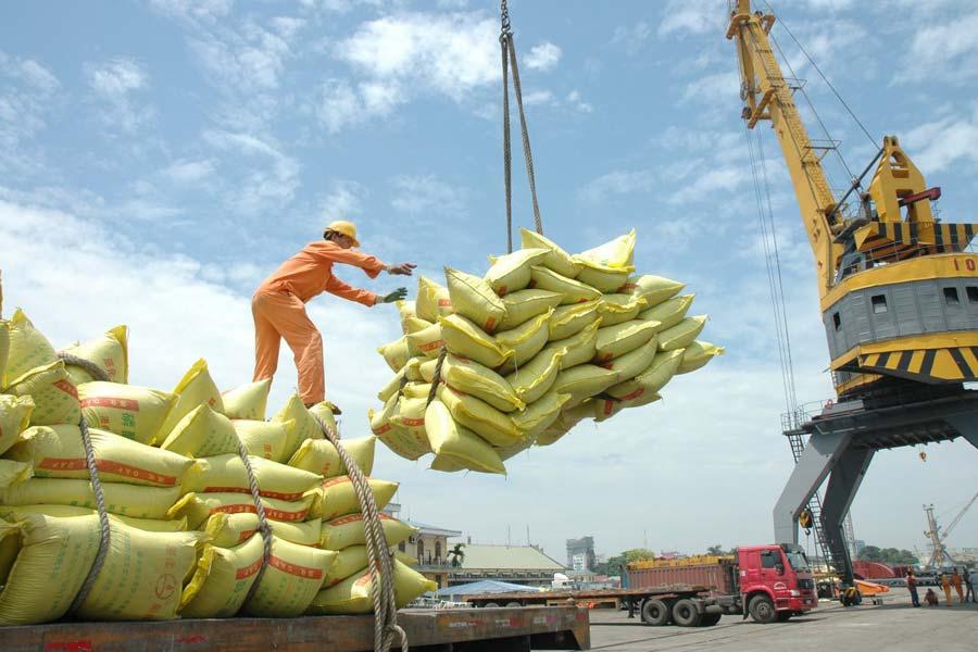 giá cả lúa gạo xuất khẩu