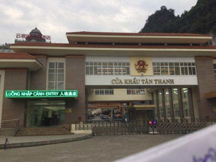 cửa khẩu Tân Thanh